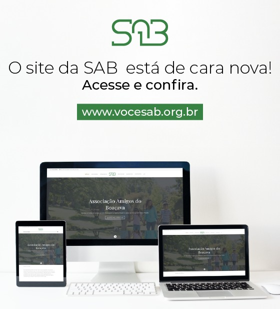 Novo Visual do site da SAB